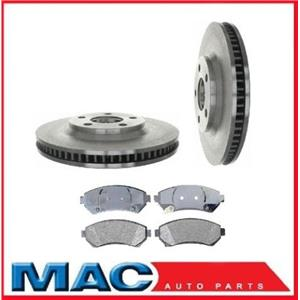 for 2000-2004 Bonneville 100% New Front Disc Brake Rotors & Ceramic Pads