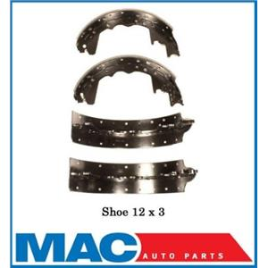 Rear New Brake Shoes 12 x 3 Dodge Ford 358