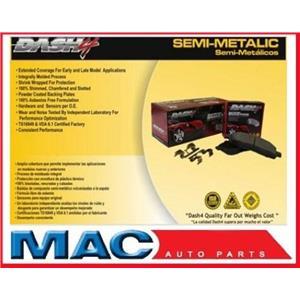 BUICK CADILLAC CHEVROLET GMC ISUZU OLDSMOBILE PONTIAC Semi-Metallic Brake Pads
