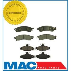 Fits 1988-1996 Chevrolet Corvette Front & Rear Ceramic Brake Pad Set Sets