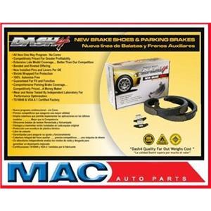2000-2010 Ford Focus Dash 4 Brake B747 Rear Drum Brake Shoe