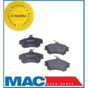 Front Left & Right Semi-Metallic Brake Pads for Volvo V40 S40 2000-2004