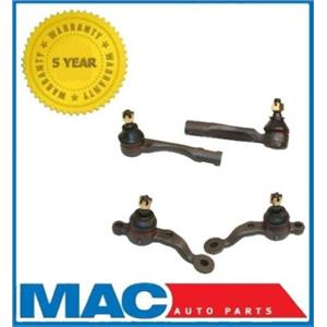 1999-2005 Lexus IS300 IS 300 Lower Ball Joints and Outer Tie Rods Kit New