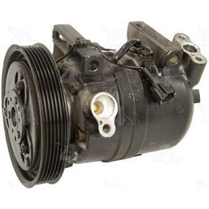 AC Compressor Fits 2001-2004 Nissan Frontier 2002-2004 Xterra (1YW) R67454