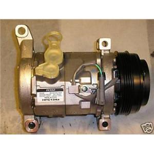 AC Compressor For Cadillac Chevy Silverado GMC Sierra Hummer H2  1 Yr W NEW77376