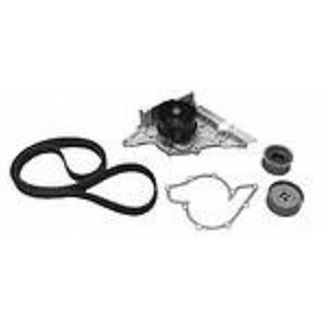 AUDI 2.8L WITH METAL IMPELLA  TB218LK1MI Engine Timing Belt Kit with Water Pump