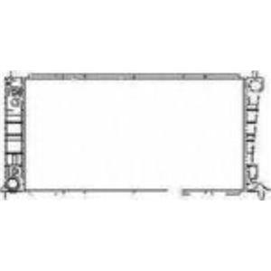 97-98 Expedition  2165 Radiator 2 ROW H/Duty Core Size 31 7/8 x 17 x 2 1/4 Inch