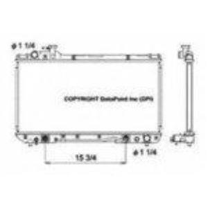 Rav4 2 Row Heavy Duty With Manual Transmission New OSC 1860 Radiator