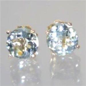 E012-5, Green Amethyst, 14k Gold Earrings