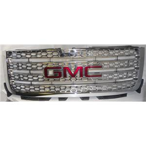 2011-2013 GMC OEM Sierra 4-Bar Full Mesh Grille (USED)