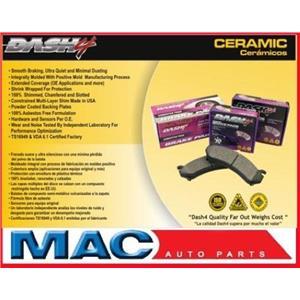 Dash 4 Brake CD493 REAR CERAMIC Disc Brake Pad