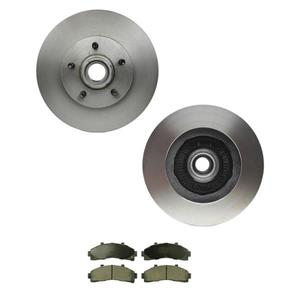 Ranger B2300 B3000 B4000 2 W/D 4ABS 10.28 Inch Tossion Front Brake Rotors & Pads