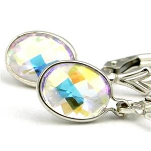SE001, Mercury Mist Topaz, 925 Sterling Silver Earrings