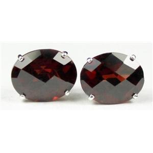 Mozambique Garnet, 925 Sterling Silver Earrings, SE102