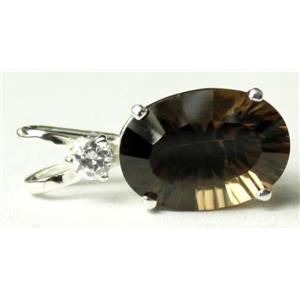 SP019, Smoky Quartz 925 Sterling Silver Pendant