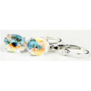 SE107, Mercury Mist Topaz, 925 Sterling Silver Earrings