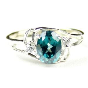 SR176, Paraiba Topaz, 925 Sterling Silver Ring