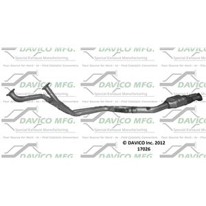 Catalytic Converter 1985-1988 BMW 735i 3.5L Direct Fit with Gaskets