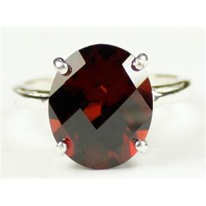 Mozambique Garnet, 925 Sterling Silver Ring, SR055