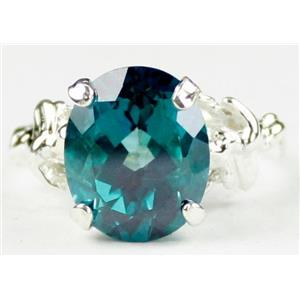 Paraiba Topaz, 925 Sterling Silver Ring, SR154
