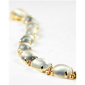 B003C, Moonstone Gold Bracelet
