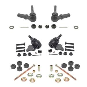 6Pc GM Cars Chassis Kit REF# (2) K5333 (2) K8989 (2) ES3452 Ball Joint Tie Rods
