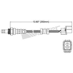 Walker Products 250-24473 Oxygen Sensor
