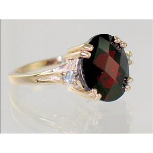 R150, Mozambique Garnet, Gold Ring