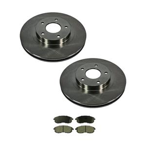 Front Disc Brake Rotors and Brake Pads for I35 02-04 & ALTIMA 02-06