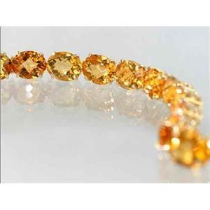 B003, Citrine, Gold Bracelet