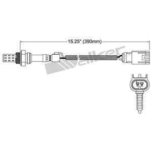 Walker Products 250-22060 Oxygen Sensor
