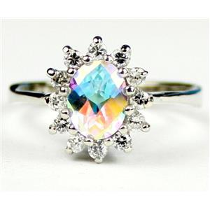 SR235, Mercury Mist Topaz, 925 Sterling Silver Ring