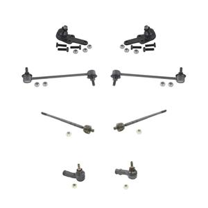 For Focus 00 to 04/04/2004  Ball joints Tie Rods Sway Bar Links 8Pc Chassis Kit