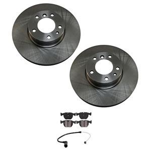 For 740i & 740iL 95-01 Front Brake Rotors, Disc Brake Rotors & Wear Brake Sensor