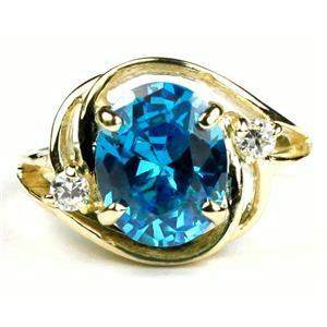 R021, Glacier CZ, Gold Ring