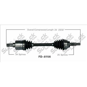 CV Drive Axle Shaft Fits Ford Focus SVT 2002-04 Front D