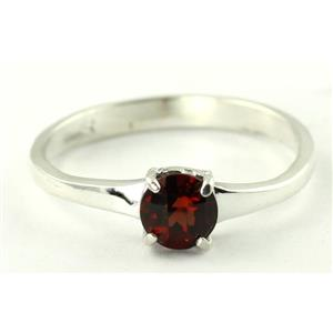 SR301, Mozambique Garnet, 925 Sterling Silver Ring
