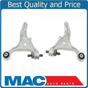Lower Front Control Arm with Bushings Pair Right Left Set for 99-06 Volvo S80