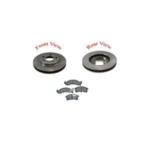 98-99 Lasabre LSS Bonnrville 55036 Frt Brake Rotors & CD623 Ceramic Pads