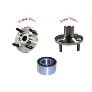 02 03 05 Lancer LS 63092 PT510079 PTC Front Spindle Wheel Hub & Bearing