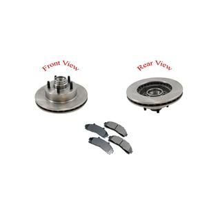 Rotors 98-01 Ranger Rear Wheel Drive With Rear ABS Only Coil Spring Suspension