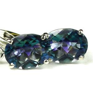 Neptune Garden Topaz, 925 Silver Earrings, SE007