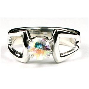 SR307, Mercury Mist Topaz 925 Sterling Silver Ring