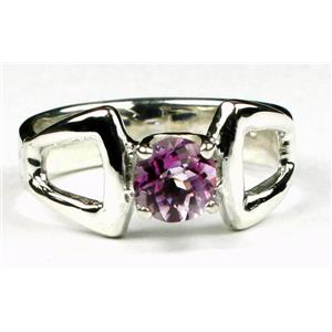 SR307, Pure Pink Topaz 925 Sterling Silver Ring