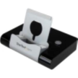 StarTech.com 3 Port USB 3.0 Hub plus Combo Fast-Charge Smartphone ST4300U3C1B