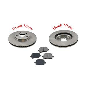 Highlander Front  Brake Rotors & Metallic Pads 31266 MD884