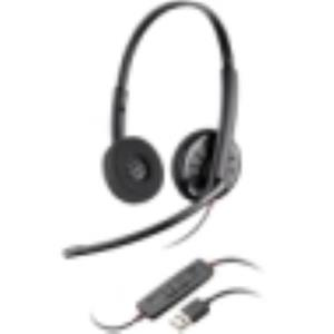 Plantronics Blackwire C320 Headset Stereo Black USB Wired Over-the-head 85619-03