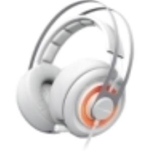 SteelSeries Siberia Elite Headset Surround Arctic White Mini-phone 51190