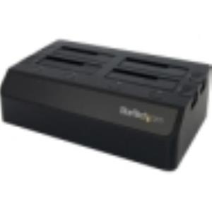 StarTech.com USB 3.0 to 4-Bay SATA 6Gbps Hard Drive Docking Station SDOCK4U33