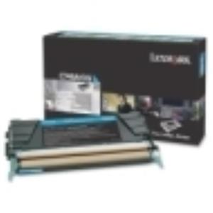 Lexmark C746 C748 Cyan Return Program Toner Cartridge C746A1CG